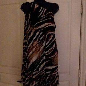 Soma off one shoulder dress